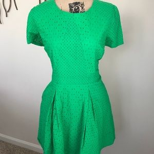 Cute in Green Dress